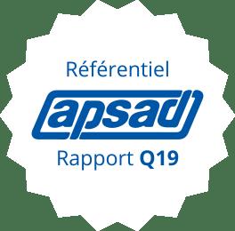 Référentiel apsad Rapport Q19 logo